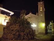 Plantà de la foguera de Sant Antoni 2005