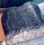 Làpida romana. Corral del Tio Germanet