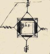 Signatura de Joan de Unyon, alcaid d'Olocau.