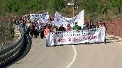Manifestació a la CV-25