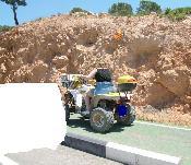 Quad pel carril bici