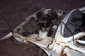 Cotxe fet pols